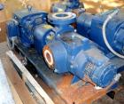 Used- Nash Liquid Ring Compressor, Model SC2/7, carbon steel. Rated up to 200 cfm and 28