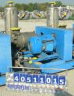 Used- Nash Single Stage Liquid Ring Vacuum Pump, size SC6SS, stainless steel. 11 1/4