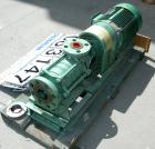 USED: Sihi Self-Priming Side Channel Vacuum Pump, model CEHQ-3603, carbon steel. Approximate capacity 52 cfm at 1450 rpm. 2