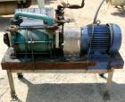 USED: Sihi liquid ring vacuum pump, model LPH45317, carbon steel. 1-1/2