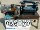 Used- Sihi Liquid Ring Vacuum Pump, Model LPH45317, Carbon Steel. 1 1/2