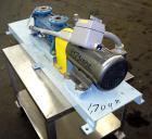Used- Sihi Liquid Ring Vacuum Pump, Model LPHA 25007 BN139010, Carbon Steel. 1-1/4