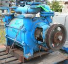 Used- Sihi Liquid Ring Vacuum Pump, Model LPHY 70540, 316 Stainless Steel. 5