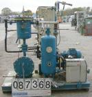 USED- Sihi Liquid Ring Vacuum Pump System Consisting Of Sihi Liquid Ring Pump, Model PI45310, Carbon Steel Construction. 1-1...