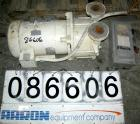 USED: Sterling close coupled, single stage, liquid ring vacuum pump,model LEMB170, carbon steel. 1-1/2