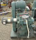 Used- Stokes Microvac Rotary Piston Vacuum Pump, model 212-11, carbon steel. Approximately 150 cfm. 3