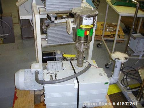 Used- Tuthill Rotary Vane Vacuum Pump, Model KSV300-9503150. Rated 200 cfm with 7.5kw, 230/460 volt motor, serial# 222000280...