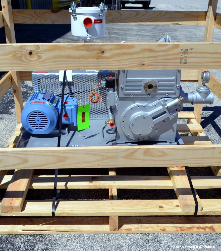Unused- US Vacuum Pumps Model RP-35 Rotary Piston Vacuum Pump