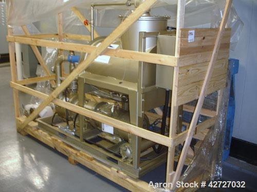 Unused- Wintek Decker Vacuum System, Model DV0200B-KA8. Decker liquid ring vacuum pump with approximately 15 hp motor, appro...