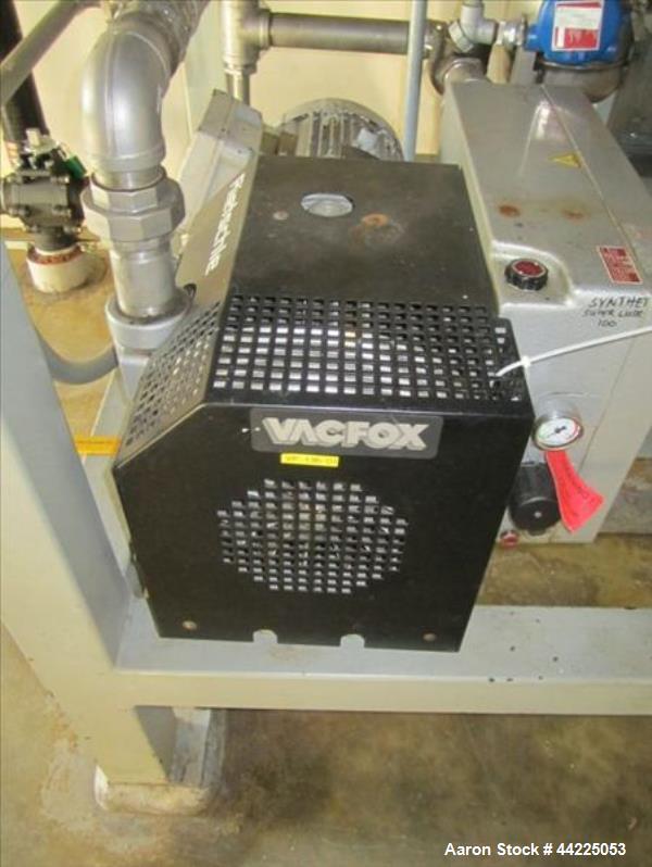 Used- Wintek Vacuum Skid, Model K08-VC200-C/40/R30