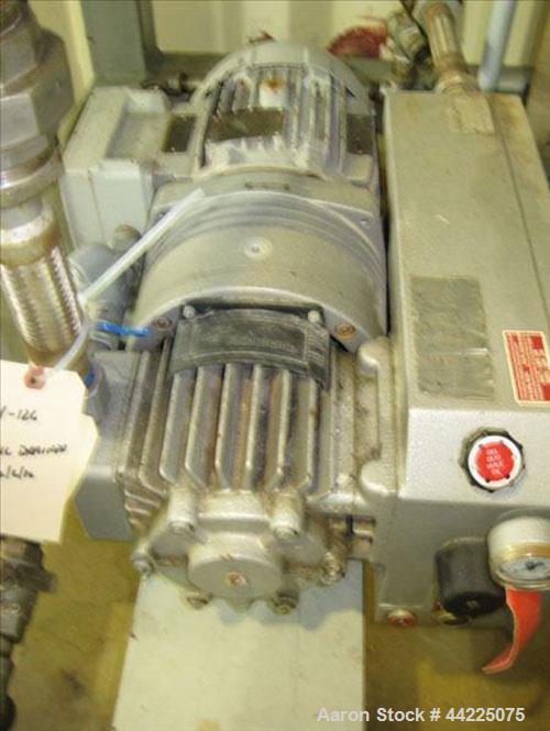 Used- Wintek Vacuum Skid, Model K08-VC60C15/R20