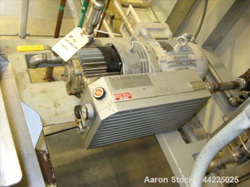 Used- Wintek Vacuum Skid, Model K08-VCA60-C15/R20