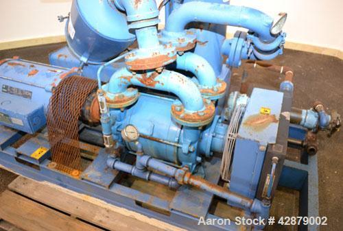 Used- Wintek Intervac Liquid Ring Vacuum System