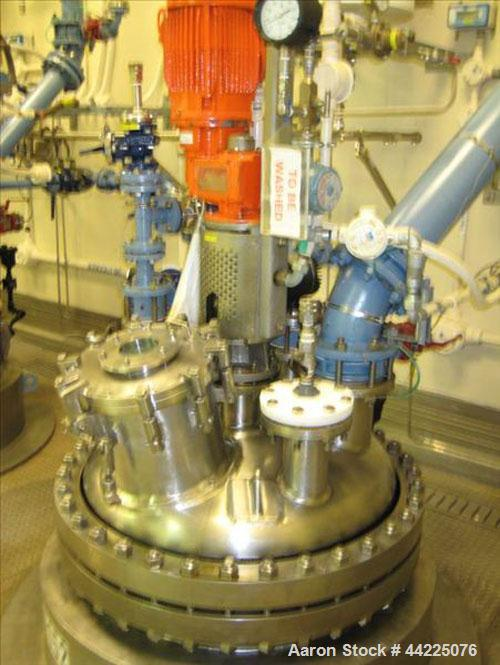 Used- Robert Mitchell Reactor, 230 Gallon, Hastelloy C276. Bolt on dish top, dished bottom. Internal rated 100 psi at 450 de...