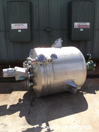 Used- 300 litre PSV Hastelloy Vertical Reactor