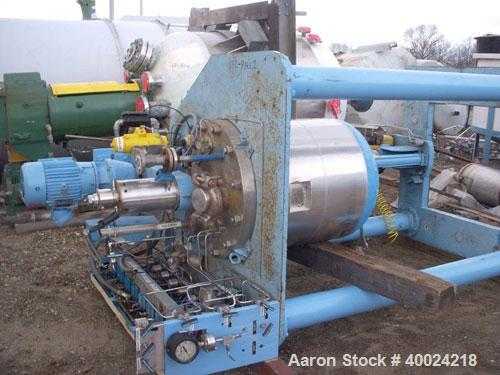 "Used- Autoclave Engineers Reactor, 50 Gallon, Hastelloy C276, Vertical. Approximately 24"" diameter x 24"" straight side, flat..."