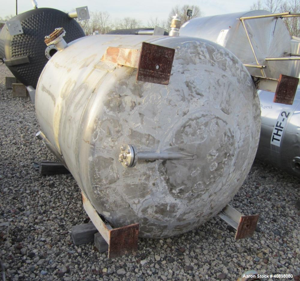 Used- 400 Gallon Monel 400 Baeuerle and Morris Reactor