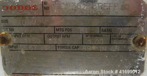"Used- Feldmeier Reactor, 100 Gallon, Hastelloy, Vertical. 30"" diameter x 26"" straight side, dished removable top, dished bot..."