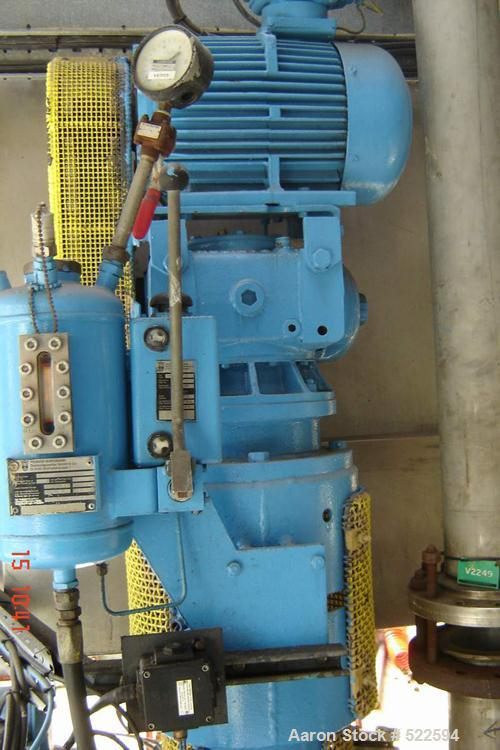 USED: Langfield Ltd reactor. Material of construction is Hastelloy C on product contact parts. Working capacity 240 gallon (...