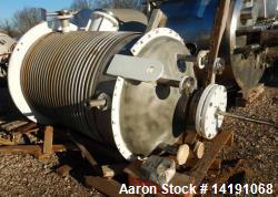 Used- 350 Gallon Hastelloy C276 Brighton Reactor. Shell 100/fv at 350F. 321 stainless steel plate coil jacket 30psi at 350F ...
