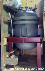 Used- TiFab Titanium Grade Reactor, Model SB-265-2. 290 PSIG design pressure (internal). 392F design temperature (internal)....
