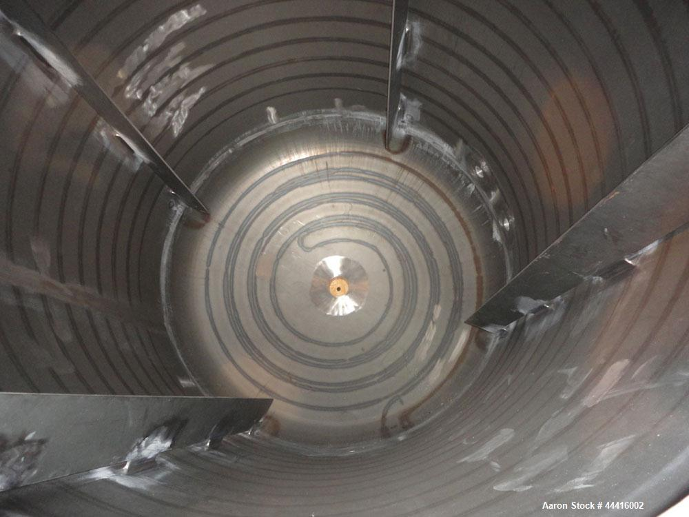 """Unused- Holloway America Reactor, 1000 Gallon, Hastelloy C-276, Vertical. Approximate 62"""" Diameter x 70"""" straight side, dish..."""