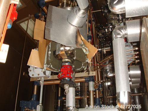 Used- Northland Stainless Reactor Train, 50 Liter (13.2 Gallon). With 50 liter Hastelloy C22 reactor, removable dish top, di...
