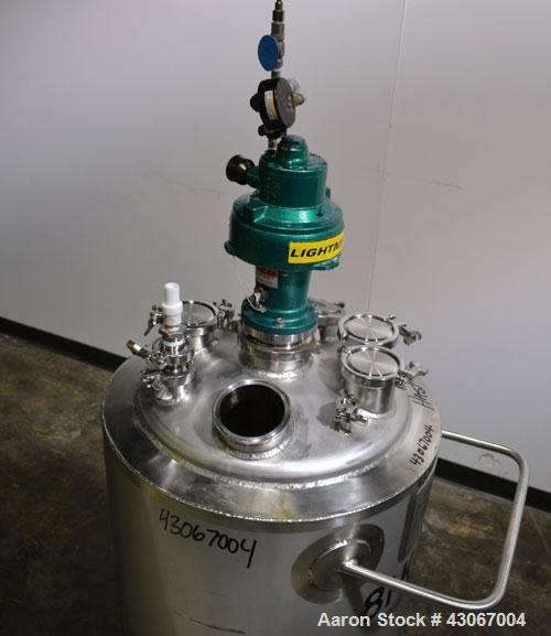 Used- Northland Stainless Reactor, 30 Gallon, Hastelloy C-22, Vertical. Approximately 18'' diameter x 25'' straight side, di...