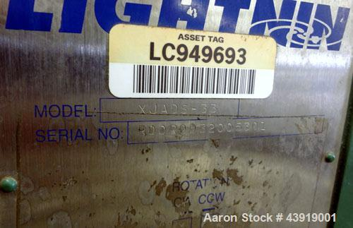 """Used- Northland Stainless Reactor, 150 Gallon, Hastelloy C-276.  Approximately 42"""" diameter x 21"""" straight side.  Dished top..."""