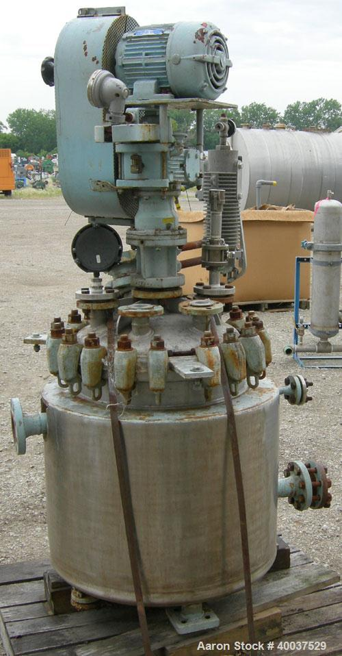 Used- 30 Gallon Pfaudler Reactor, Model 30-150-120-JOW