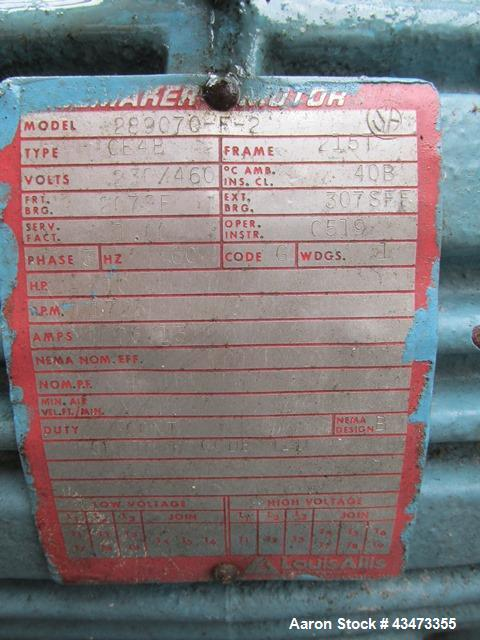 """Used- Pfaudler Reactor, 500 Gallon, Hastelloy C276. Approximately 54"""" diameter x 51"""" straight side, semi elliptical top and ..."""