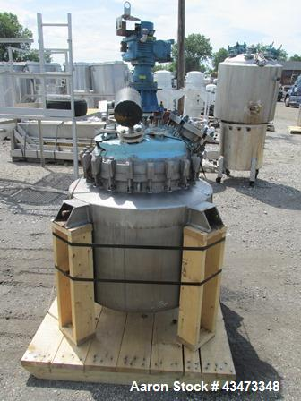 "Used- Precision Stainless Reactor, 50 Gallon, Hastelloy C276. Approximately 24"" diameter x 36"" straight side, removable dish..."