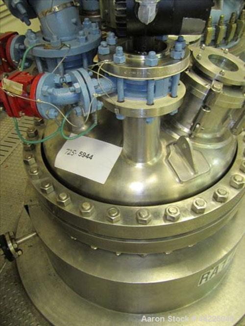 Used- Robert Mitchell Reactor, 100 Gallon, Hastelloy C276. Bolt-on dish top, dished bottom. Internal rated 100 psi at 450 de...