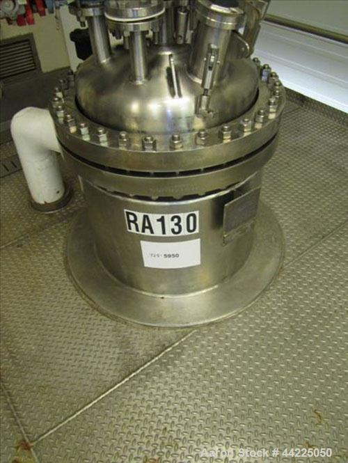 Used- Robert Mitchell Reactor, 50 Gallon, Hastelloy C276. Bolt-on dish top, coned bottom. Internal rated 100 psi and full va...