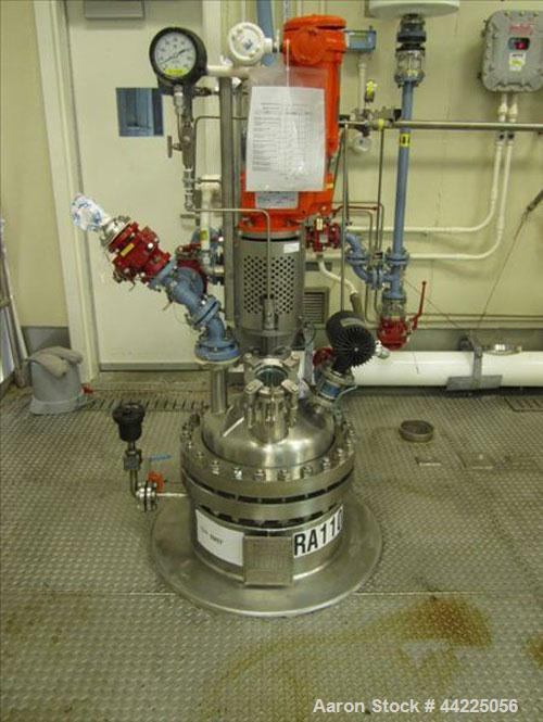 Used- Robert Mitchell Reactor, 20 Gallon, Hastelloy C276. Bolt-on dish top, coned bottom. Internal rated 100 psi and full va...