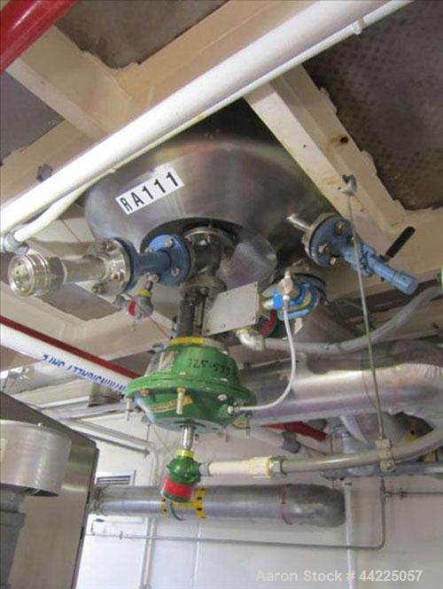 Used- Robert Mitchell Reactor, 30 Gallon, Hastelloy C276. Bolt-on dish top, coned bottom. Internal rated 100 psi at 450 degr...