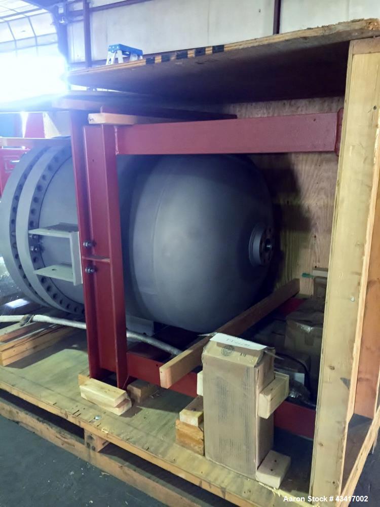Used- TiFab Titanium Grade Reactor, Model SB-265-2. 290 PSIG design pressure (internal). 392F design temperature (internal)....