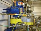 Used- Zeyon Hydrogenation Reactor, 40 Liter (10.5 Gallon), Hastelloy C.  16
