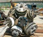 Used- Pfaudler Reactor, 15 Gallon, Hastelloy B-2, vertical. Approximately 13