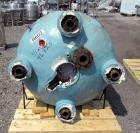 Used- Pfaudler Reactor, 200 Gallon, Hastelloy C276, Vertical. Approximately 39