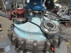 Used- Precision Stainless Reactor, 50 Gallon, Hastelloy C276. Approximately 24