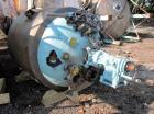 Used- Precision Reactor, 300 Gallon, Hastelloy C276 Construction. Approximately 48