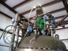 Used-Titanium Fabrication Corp Reactor, 100 gallons.  Internal rated 290 psig @ 392 deg F.  Internal coil.  Coil surface are...