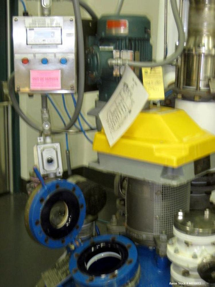 Used- DeDietrich Glass Lined Reactor, 150 Gallon. Internal rated 100 psi & Full Vacuum at 500 degrees F, jacket rated 150 ps...