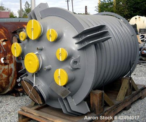 Unused- De Dietrich Glass Lined Reactor Body, 500 Gallon. Internal rated 130 psi & Full Vacuum at 500 degrees F. (2) Zone 1/...
