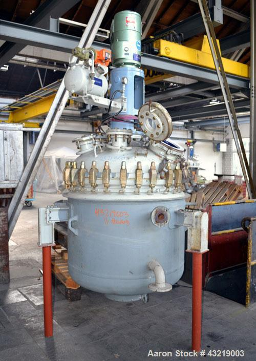 Used- 700 Liter De Dietrich Glass Lined Reactor
