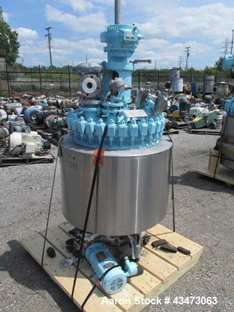 Used- 100 Gallon Glass Lined Dedietrich Reactor