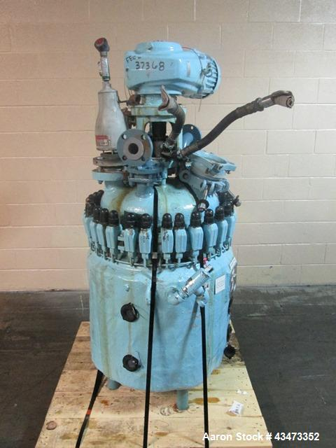 Used- De Dietrich Glass Lined Reactor, 50 Gallon, 3008 Glass. Internal rated 300 psi & Full Vacuum at 400 degrees F. Jacket ...