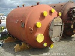 Used- 2120 Gallon Pfaudler Glass Lined Reactor