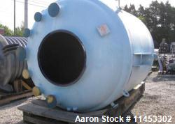Unused - 1500 Gallon Pfaudler Glass Lined Reactor Body. Rated 100 psi and full vacuum at 450 f. Jacketed for 90 psi at 450 f...
